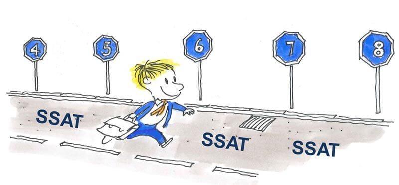 đề thi thử SSAT
