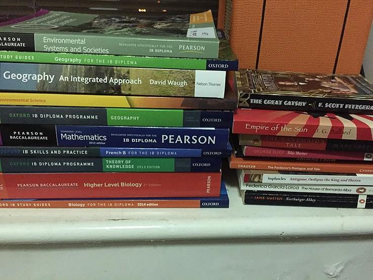 IB test prep classes - books
