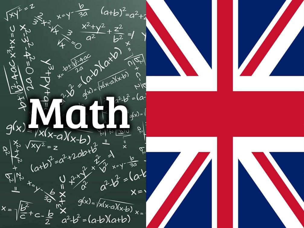 math-in-english